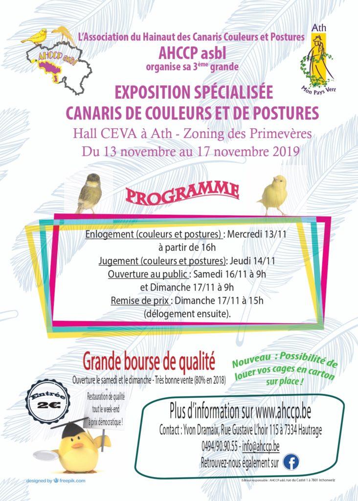 Edition 2019 – 3e exposition